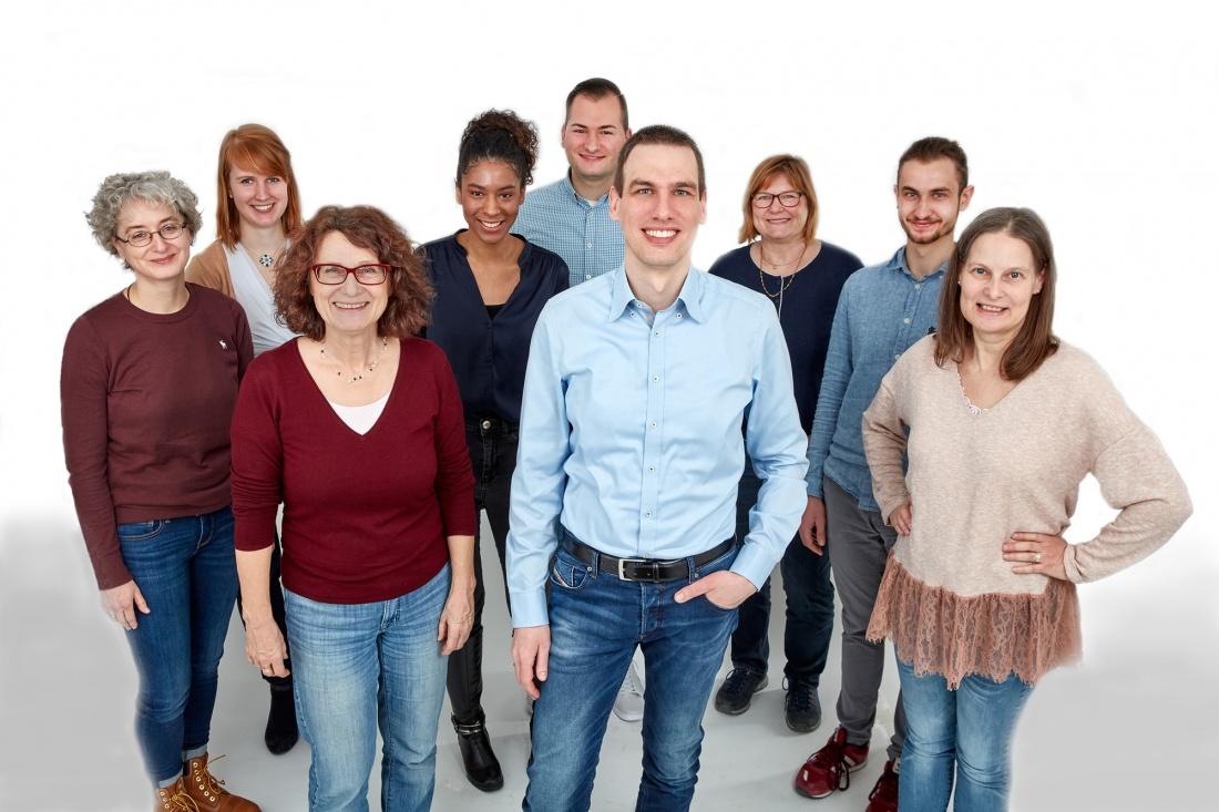 Gruppenbild Mitarbeiter GFS Beratung Frankfurt