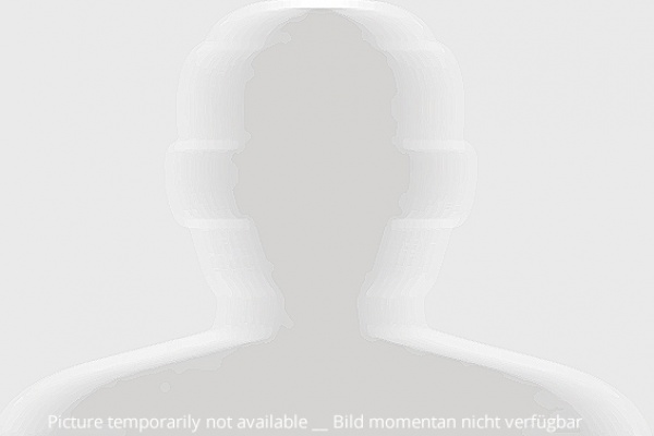 Schemen einer männlichen Person an Stelle eines Portraits